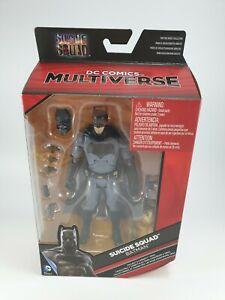Batman DC Comics Multiverse 6 Inch Action Figure Suicide Squad Batman Mattel