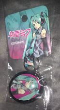 Hatsune Miku Photo Keychain Keyring New Rare - Video Game Music