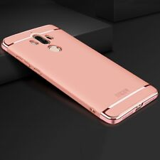 Housse Portable Protection Case Pour Huawei Mate 9 Anti-Chocs 3 in 1 Cover Chrome Rose Gold