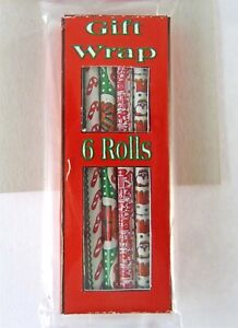 Dollhouse Miniature Christmas Holiday Gift Wrapping Paper SH0022