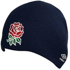 Umbro ENGLAND RFU Beanie Ski HAT Rugby Gift