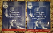 Radiographic Positioning & Related Anatomy Work & Lab Manual 5e Vol.1&2 Low Bid$