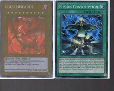 Yugioh Card - Super Rare Holo - Fusion Conscription FUEN-EN057 1st Ed New