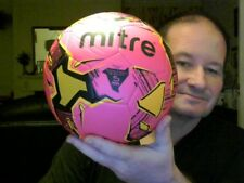 MITRE FINAL SIZE 5 COLOURED FOOTBALL IDEAL CHRISTMAS GIFT! FREE UK POST