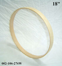 "18"" Maple Bass Drum Hoop/Ring/Rim (Rounded Front) Unfinished 002-106-276W"
