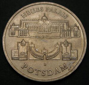 GERMANY (DDR) 5 Mark 1986 A - Copper/Nickel - Potsdam New Palace - aUNC - 1003