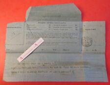 Télégramme 1906 cachet Saint Nazaire M Louis Guillet à M Anthime Ménard Député