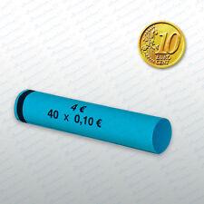 Münzhülsen  10 Cent  2700 Stück Münzrollen Großpackung