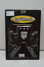 Portatarga regolabile LIGHTECH KAWASAKI ZX-10R 04/05  ER-6N 06/08