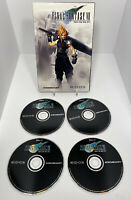 Final Fantasy VII 7 PC/CD-ROM - Eidos/Square ~ 4 discs - 90s - No Manual No Box