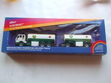 Siku Eurobuilt 1:55 scale BP Mercedes Benz Tandem Fuel Delivery Truck