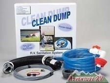 Clean Dump RV Camper Trailer Permanent Macerator Sewer Pump System CDPU