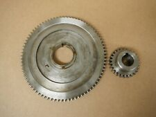 BRIDGEPORT MILL milling machine SPINDLE BULL GEAR ASSEMBLY 2183933 M1490 > USED
