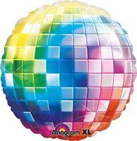 70s Groovy Disco Fever Jumbo Foil Birthday Party Jumbo Round Foil Balloon