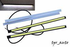 2x 6W COB LED 20cm Tagfahrleuchten Tagfahrlicht DRL Lampen TFL Weiß 12V /981-20
