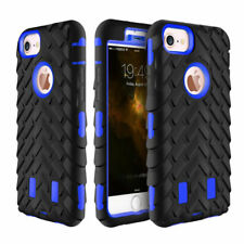 Hybrid Rugged Hard Rubber Cover Case Shockproof For Iphone 6 6S 7 7 Plus SE 5 4S