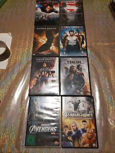 Lot 8 DVD super héros Marvel, DC