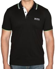 Hugo BOSS Paddy Pro Black Men's Polo Short Sleeve Shirt 50326299 001