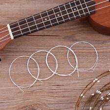 Silenceban Set of 4 Ukulele  Strings Nylon White Replacement for Ukulele