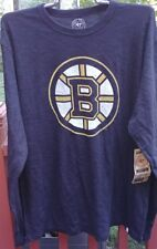 Boston Bruins 47 Brand Men's Long Sleeve T-Shirt NWT Size XL