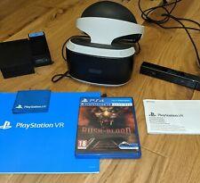 PS4 / PS5 PlayStation VR V1 Bundle - Headset, Camera + Rush Of Blood - PSVR