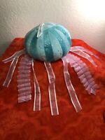 Jellyfish Plush Toy Stuffed Animal Decor Rinco 2011 Blue Purple Ocean Sea G15