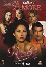 Telenovelas RUBI 4 DVD in BOX miglior telenovela 2004 Amore Romantic