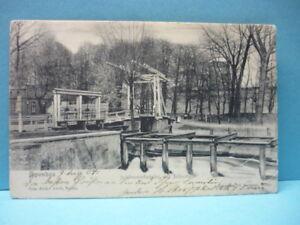 AK (100) Berlin-Spandau Schleusenbrücke am Juliusturm-gelaufen-1904