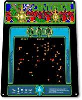 Centipede Classic Atari Arcade Marquee Game Room Wall Art Decor Metal Tin Sign