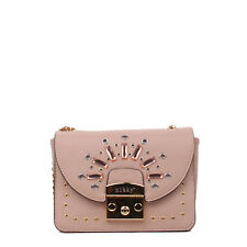 ON SALE NIKKY BY NICOLE LEE MERIT STUDDED CHAIN STRAP CROSSBODY (PINK)