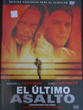 DVD EL ÚLTIMO ASALTO - SAMUEL L. JACKSON - JOSH HARTNETT - EDICIÓN DE ALQUILER