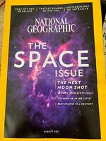 National Geographic Magazine, The Space Issue, August 2017