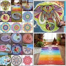 Boho Wall Tapestry Beach Throw Towel Mandala Indian Hippie Beach Mat Blanket UK