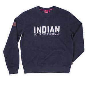 Indian Motorcycle Charcoal Logo Sweatshirt