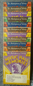 Music hall Memories 1930`s vintage sheet music songbooks 12 parts to choose from