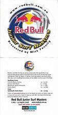 2008 Mick Fanning Junior Surf Masters Sticker 12.5cm x 12.5cm Surfing