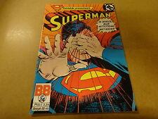 COMIC BALDAKIJN DC / SUPERMAN N° 24