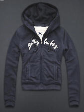 NWT GILLY HICKS BY ABERCROMBIE & FITCH SHERPA LINED HOODIE SZ XS