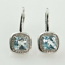 14k White Gold 0.20 Ct Diamond Stud Earrings