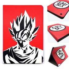 New Dragon Ball Z Goku's Kanji Red PU Leather Stand Case Cover For iPad mini