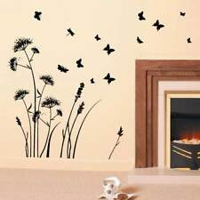 Cow Parsley and Butterfiles Meadow Large Wall Sticker