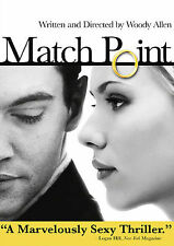 Match Point DVD Woody Allen Jonathan Rhys-Myers Scarlett Johansson