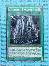 Yu Gi Oh Archfiend Palabyrinth RARE Card MP 14 En 105 1 St Edition