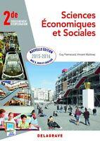 Sciences économiques et sociales 2de : Livre de l'élève (Français)