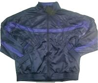Nike Air Jordan Sportswear AJ Jacket Men's  AR3130-416 Size XL New Blue/ Purple