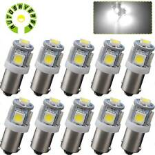 10pcs T11 BA9S 5050 5 SMD 6000K White LED Car Interior Dome Map Light Bulbs