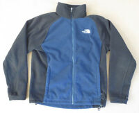 The North Face Men's Blue and Green Fleece Half Zip Pullover Jacket Size Medium