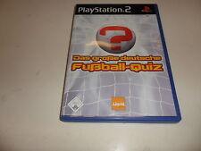 PlayStation 2  PS 2  Das große deutsche Fußball-Quiz