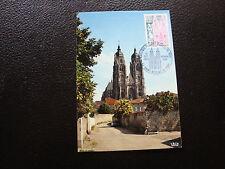 FRANCE - carte 1er jour 12/10/1974 (basilique st-nicolas-de-port) (cy15) french