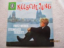 Vinyl7 Inch Fritz Weber Steingass Terzett Kölsche Jung German EP 1963 Gut